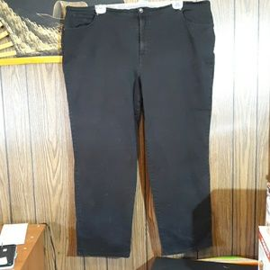 Gloria Vanderbilt 24W Blk Jeans